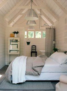 van een garage naar een slaap/badkamer - hoogte.
