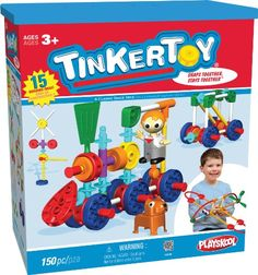 Best Gifts for 3 Year Old Boys. Tinkertoy Transit Set