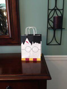 Harry Potter Party Favor Bag