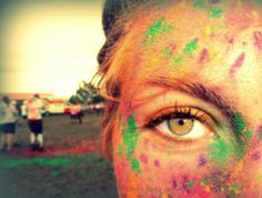 The Color Run, baby!
