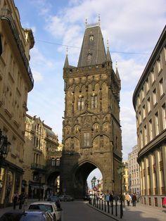 Tour poudrière - Prague