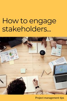 Stakeholder engagement can be vital for the overall success of a project. Read this article to find out the best way to make stakeholders engage more actively and provide their contribution to the successful delivery of a project - and for many more tips about effective project management...  #projectmanagement #projectmanager #teamwork #business #leadership #stakeholders Stakeholder Management, Engagement Tips, Project Management, Teamwork, Leadership, How To Find Out, Investing, Success, Delivery
