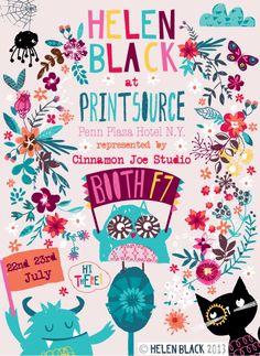 print & pattern: PRINTSOURCE 2013 - flyers