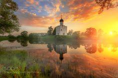 Theater Sailor • go4photos:   летнее утро на Нерли.. by egordeev