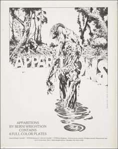 Here's some more art by my favorite comic book artist. Bernie Wrightson.