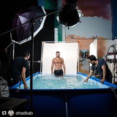 Behind the scenes by @ohadkab : This is how we do it! The New survivor 2017 season Behind the scenes with the master @ohadromano Recommend you to check is account for The final result.