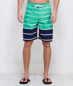 Men's Swimwear: Nautical Stripe Board Shorts for Men - Vineyard Vines
