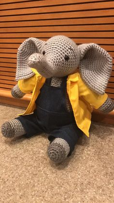 Ralphie the Elephant pattern available