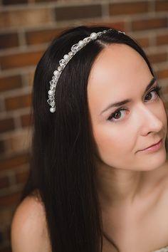 bridal headpiece, bridal tiara, hair wreath, wedding tiara, rhinestone tiara, wedding headpiece, bridal crown, hair accessories boho wedding