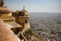 12 Top Palaces and Forts to Explore Historical India: Nahargarh Fort, Jaipur, Rajasthan