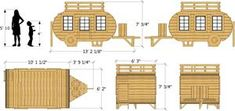 Happy Camper Playhouse Plan