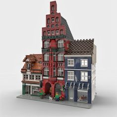 Lego Creator, The Creator, Lego Modular, Web Design, Lego Construction, Lego House, Lego Projects, Custom Lego, Lego Building
