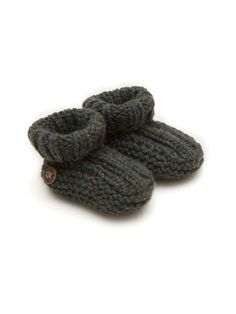 Cashmere Booties - Pine