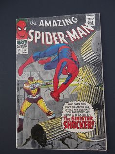 Amazing Spider-Man #46! Silver Age! 1967! Marvel! Stan Lee! John Romita!