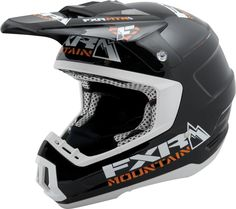 FXR Racing - Snowmobile Gear - Torque Helmet - Black MTN Snowmobile Helmets, Snow Machine, Four Wheelers, Helmet Design, Motorbikes, Snowmobiles, Racing, Type, Black