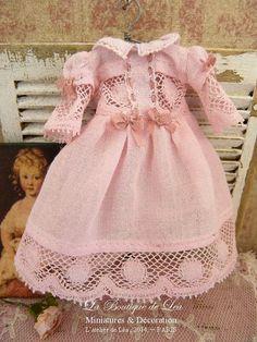 Romantic pink dress  by AtelierdeLea