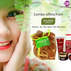 Shop More to Save More. Enjoy COMBOS from Vaadi Herbals and revel in Natural products at their best.