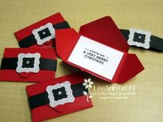 Need an easy Christmas Gift Card?  Check it out at Flowerbug's Inkspot
