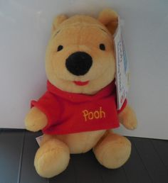 Disney Winnie the Pooh beanbag Mattel by TillieLuvsTreasures