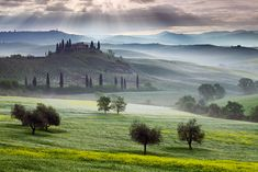 Val d'Orcia, Tuscany, Italy (Photograph by Martin Rak on 500px)