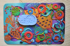 Swirling leaves silicon mold of my polymer art | This is a w… | Flickr