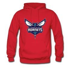 Tional Charlotte Hornets Sharp Eyes Fashion Hoodies Sweatshirt Cotton For Men Red M -- Awesome products selected by Anna Churchill