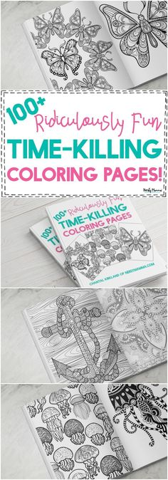 OMG Youve GOT To Check Out This Adult Coloring Book The Pictures