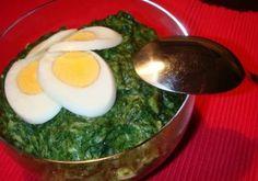 Receita de Esparregado de Nabiças à Portuguesa com Ovos Cozidos - http://www.receitasja.com/esparregado-de-nabicas-a-portuguesa-com-ovos-cozidos/