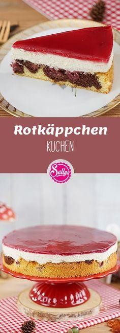 Der Klassiker! Rotkäppchen Kuchen! Naked Cake