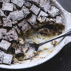 As if chocolate bread wasn't good enough, we made it better by making it pudding!