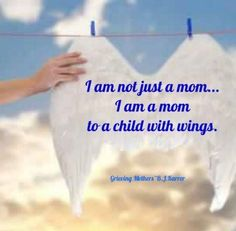 I am a parent to three children with wings