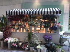 Merchandising Flower Cart