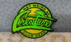 Creature- Club Dead Sticker Decal