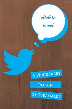 Click to Tweet Plugin for #WordPress - I recently started using this myself and it's pretty handy.