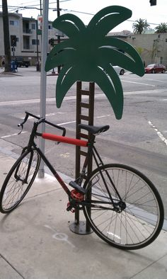 Tropical Bike Rack