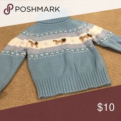Girls Gymboree Sweater Girls turtleneck sweater in excellent condition. Gymboree Shirts & Tops Sweaters