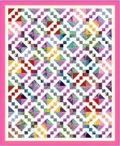 Buckeye Beauty by Eleanor Burns | Barbara Brackman lists this Great Block of four of the smaller blocks ...