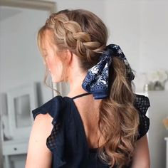 Braided Hairstyle for Long Hair hair tutorial video, braided hairstyle More from my site Braided Hairstyles for Long Hair hairstyles for long hair videos Box Braids Hairstyles, Pretty Hairstyles, Hairstyle Ideas, Festival Hairstyles, Black Hairstyle, Wedding Hairstyles, Summer Hairstyles, Hair With Bandana, Hairstyles With Scarves