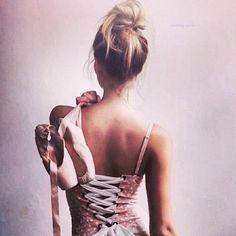 Ballerina with attitude