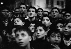 Magnum Photos - ITALY. Sicily. Bagheria. Audience at the ballad singer show…
