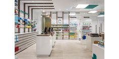 Destudio | Farmacia Cuenca Pharmacy, Photo Wall, Home Decor, Counter, Pharmacy Design, Stained Glass Windows, Projects, Business, Homemade Home Decor