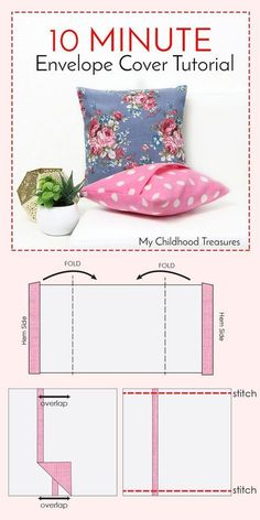 how to make cushion covers | gotta be able to remove and wash them, or just switch your covers out seasonally! #diy_dog_cushion