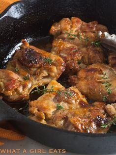 Apricot And Ginger Glazed Chicken