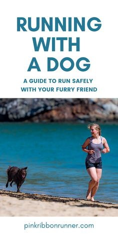 Running with your dog can be a happy, healthy & safe activity with this guide written by a veterinarian. Train your dog to run with you. Learn how on pinkribbonrunner .com Learn To Run, How To Start Running, Running Half Marathons, Summer Safety, Running For Beginners, Australian Cattle Dog, Happy Healthy, Running Workouts, Disney Cruise