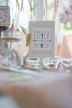 Tribal Princess Birthday Party via Kara's Party Ideas | KarasPartyIdeas.com (45)