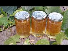 Dulceata naturala de STRUGURI - YouTube Canning Pickles, Frosting Techniques, Romanian Food, Tasty, Yummy Food, Preserves, Mason Jars, Food And Drink, Jelly