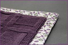 apprendre a tricoter une petite couverture
