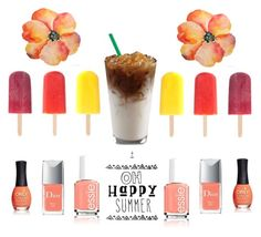 """Happy summer"" by yanavakarchuk on Polyvore"