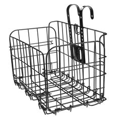 Hot Sale Foldable Bicycle MTB Basket Mesh Bottom Front Basket Cycling Steel Lift Off Carrier Outdoor Sports Bike Accessory