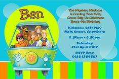 Scooby Doo Free Party Invitations TEMPLATES